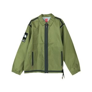 Supreme The North Face Taped Seam Coaches Jacket Olive